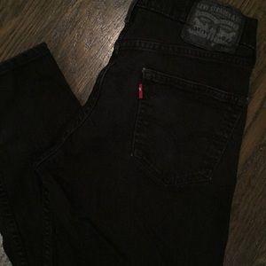 Levis 511 Black Jeans